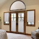 cellular shade master bedroom
